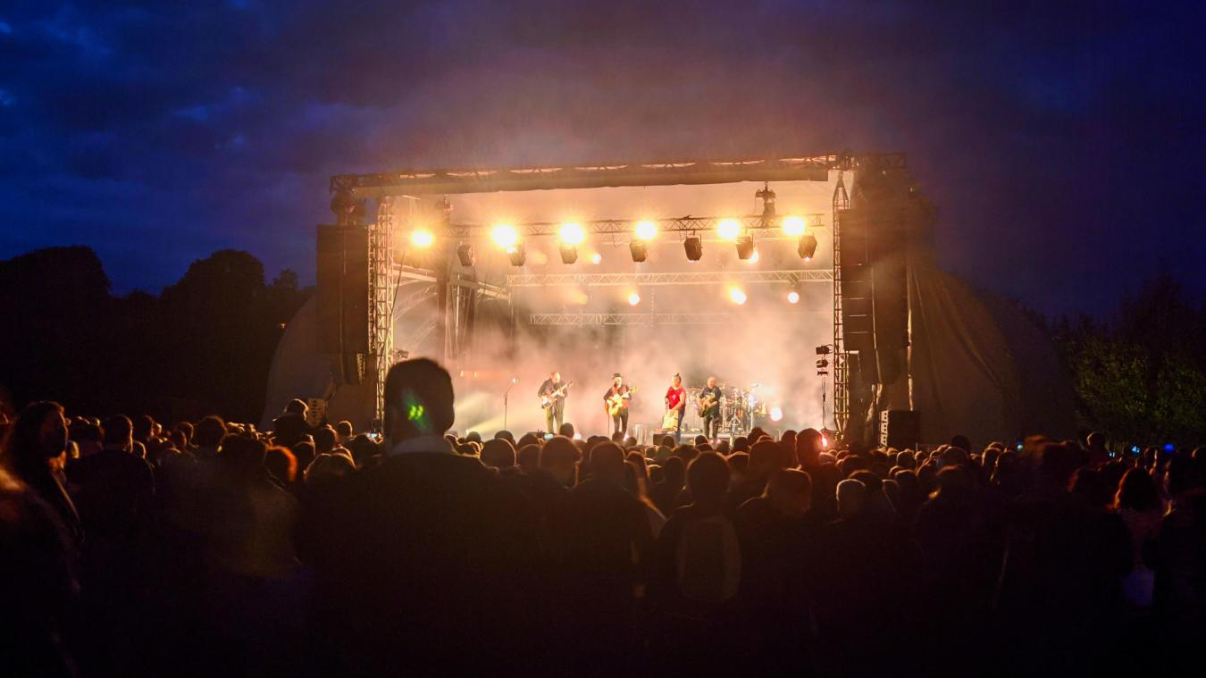 Tryo à Bailleul: concert masqué, mais plaisir partagé par 4 000 spectateurs