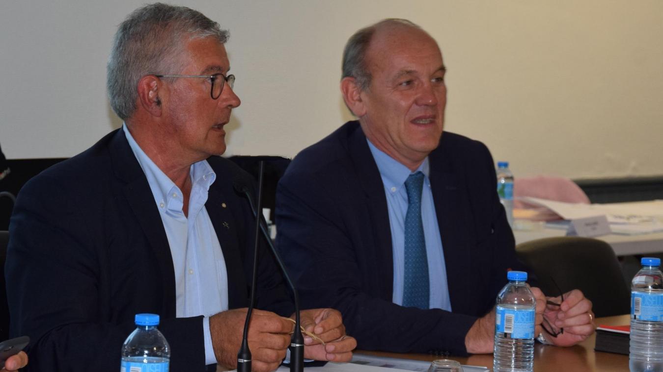 C'est je t'aime, moi non plus entre le président de la CA2BM, Bruno Cousein et le maire du Touquet Daniel Fasquelle. La CA2BM semble en suspens.