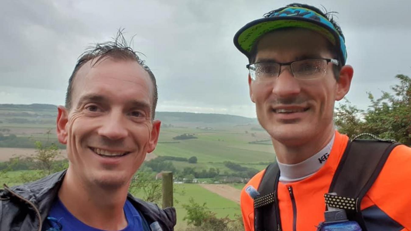 Paul Maes a bouclé 123 kilomètres en une seule journée.