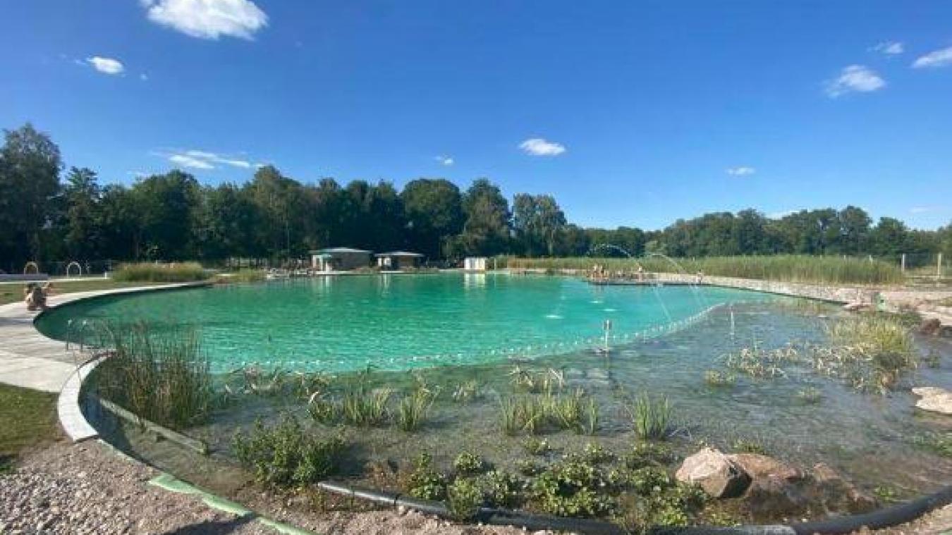 La piscine biologique de Connantre, dans la Marne, va servir d'inspiration pour le projet ardrésien.
