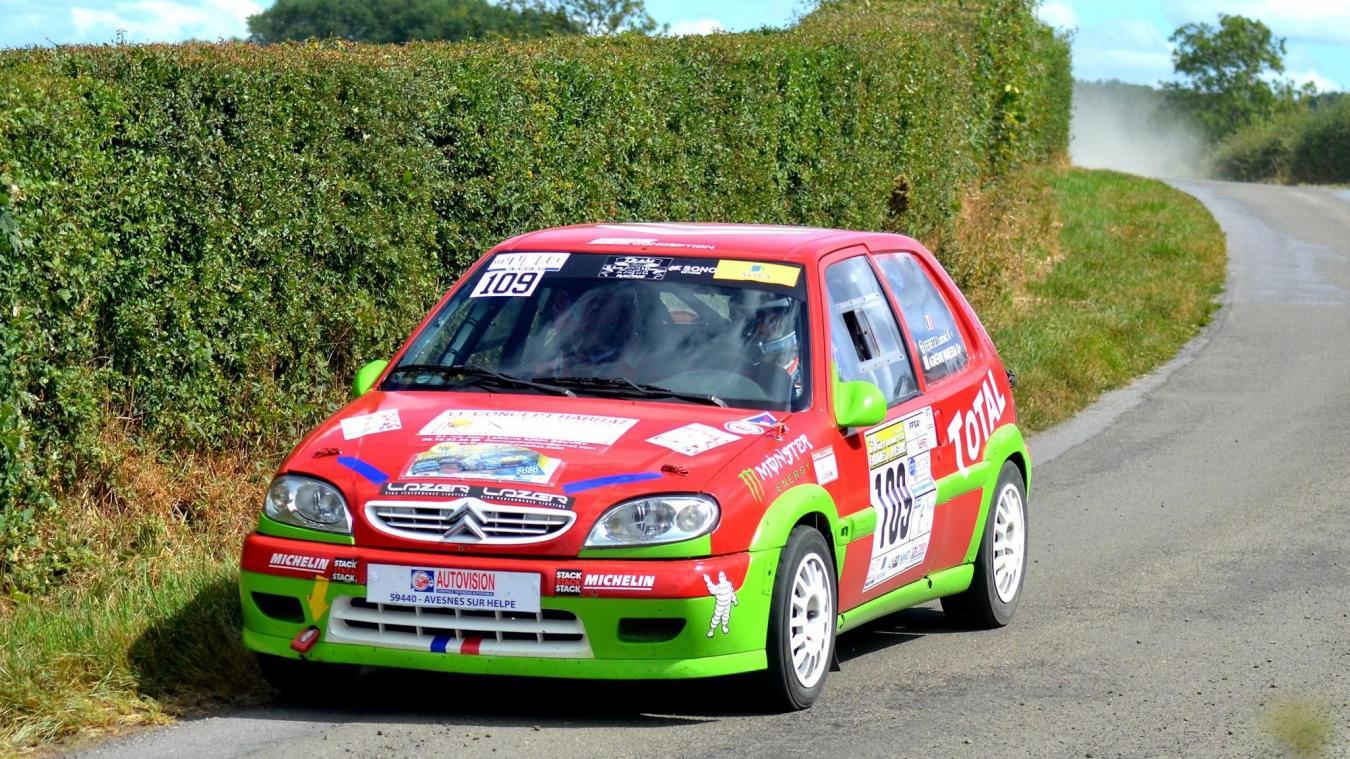 Le rallye Le Béthunois a lieu ce week-end.