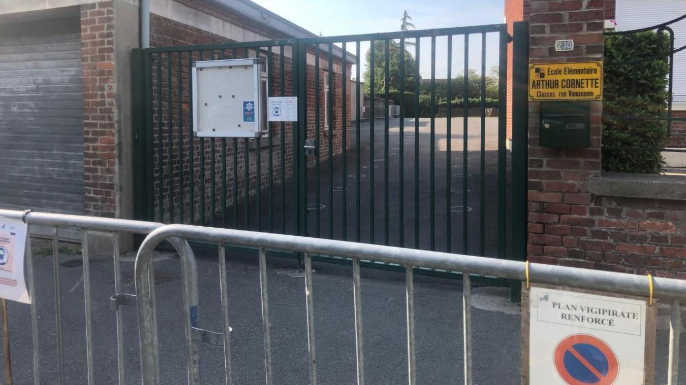 L'école Roger Salengro est fermée ce jeudi et vendredi après qu'un cas de covid a été détecté sur un élève.