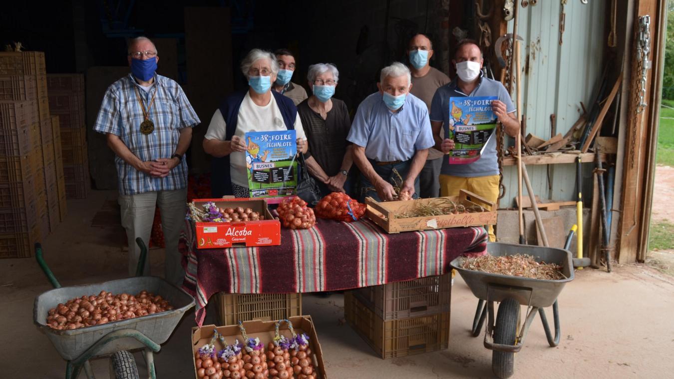 Les producteurs d'échalotes de Busnes se préparent et vous donnent rendez-vous les 12 et 13 septembre.