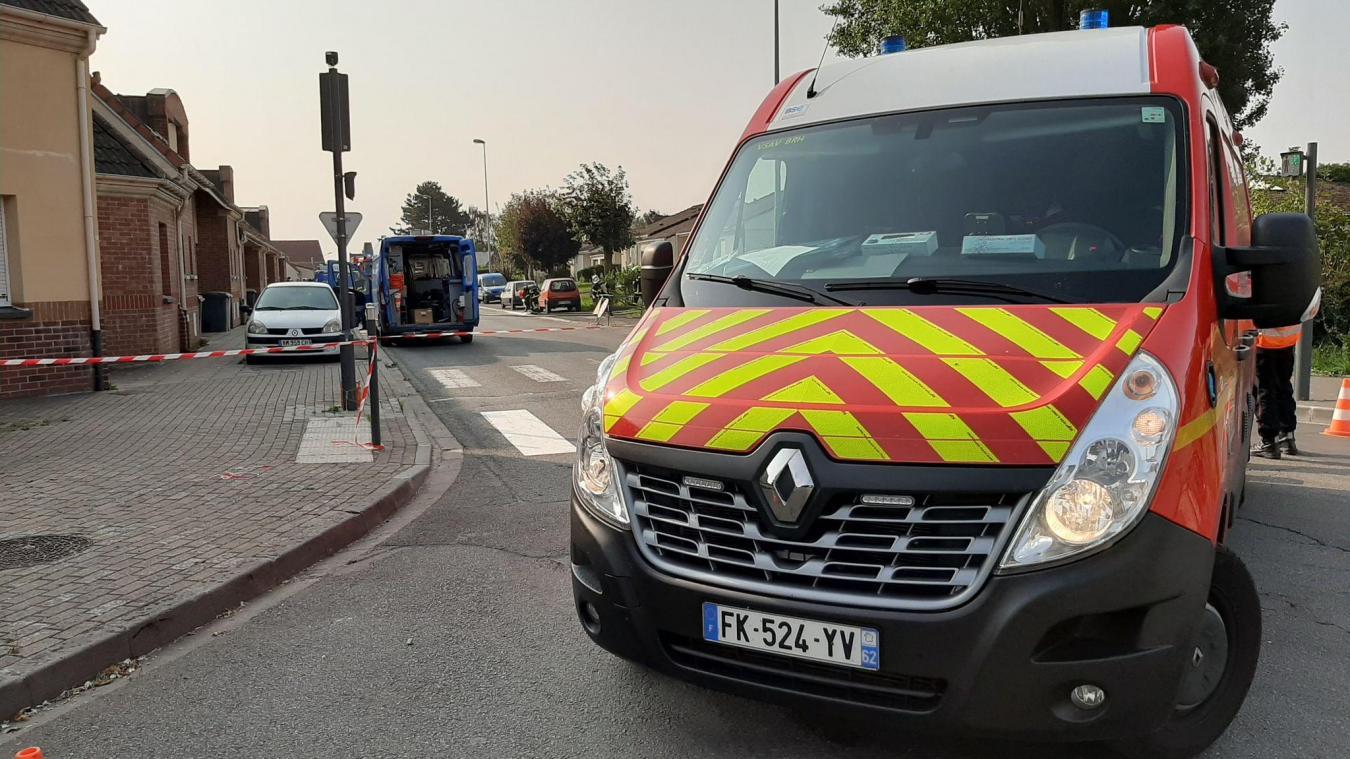 Bruay-la-Buissière: fuite de gaz sur un chantier, dix habitants évacués