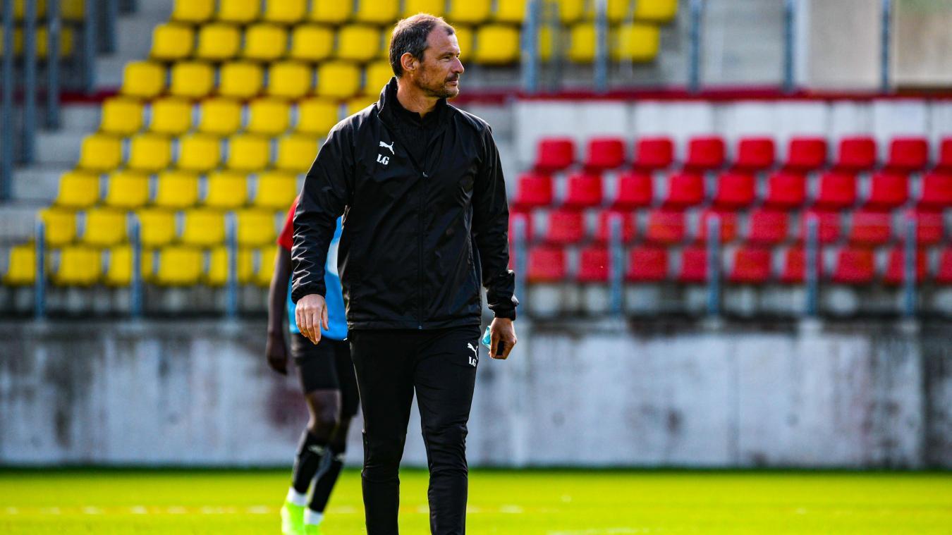 Laurent Guyot, coach de Boulogne.