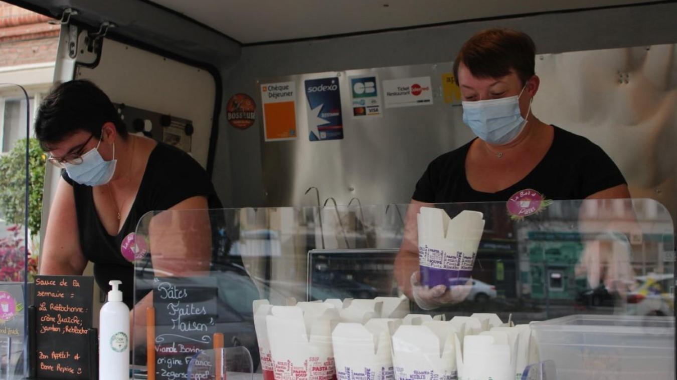 C'est le jeudi soir que le bar à pâtes se positionne à Wormhout.