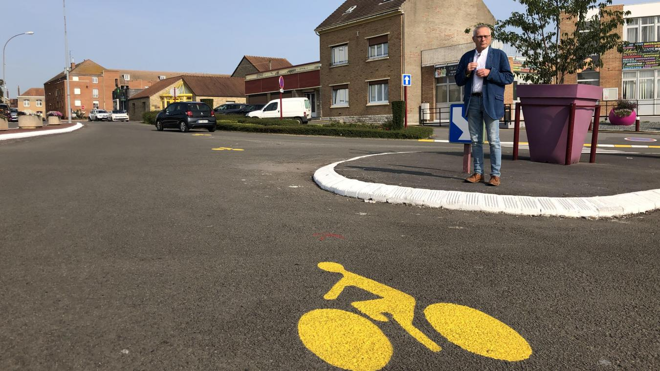 Sains-en-Gohelle : Des pistes cyclables bientôt pérennisées