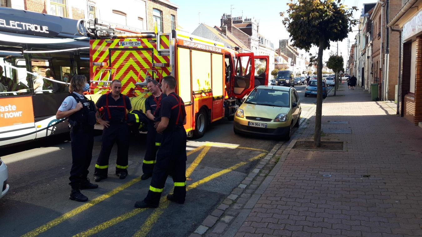 Calais: feu de cuisson boulevard de l'Égalité