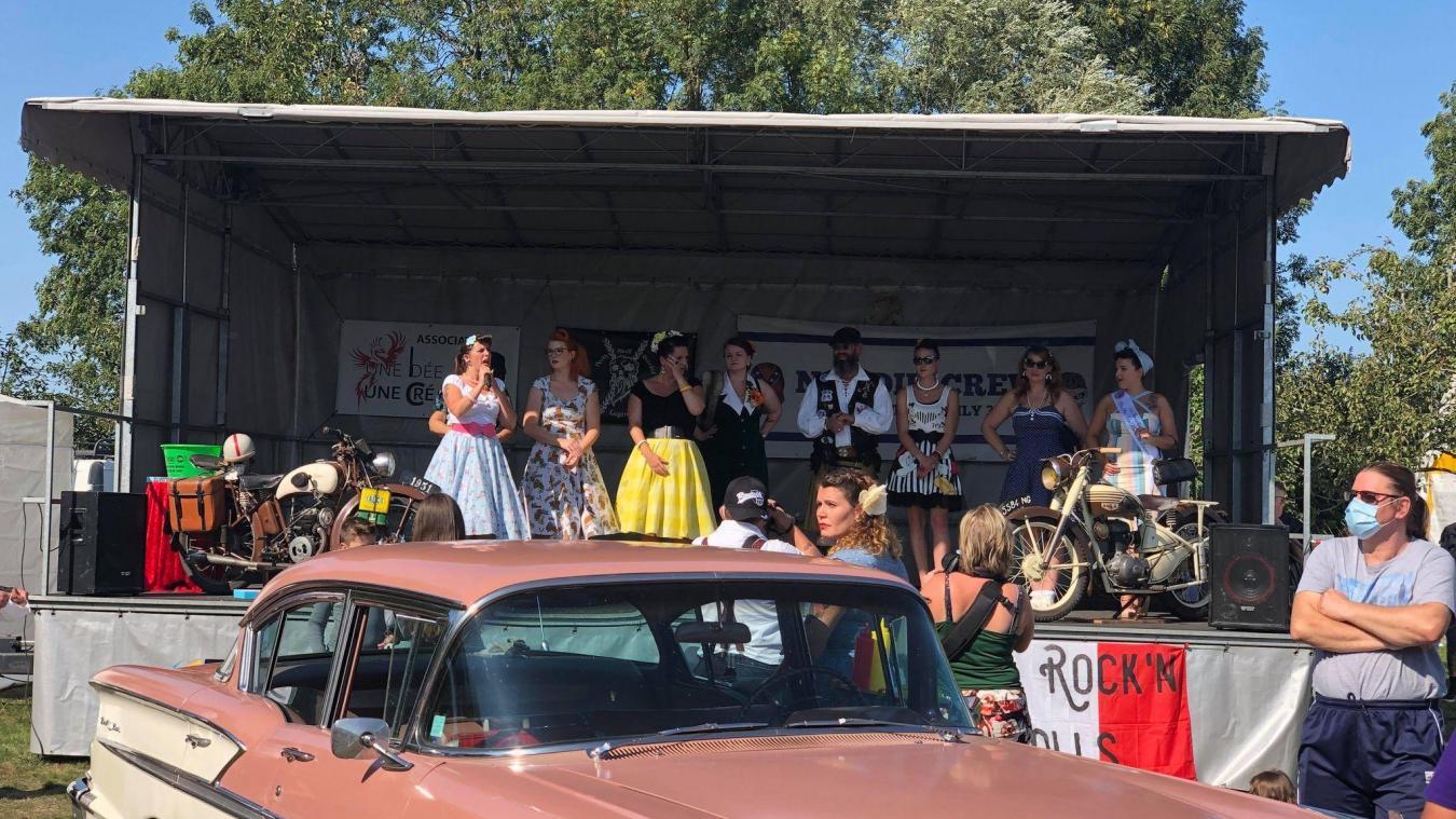 Le rassemblement était organisé au parc municipal.