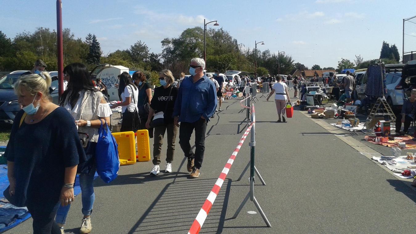 La dernière brocante qui s'est tenue dans le secteur  : à Mametz, dimanche 13 septembre.