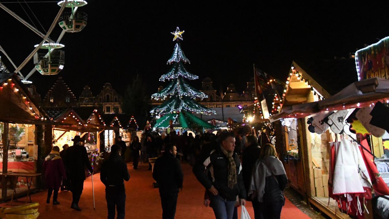 «Le marché de Noël d'Arras me permet de vivre tout simplement»
