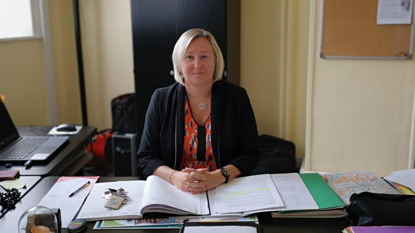 Estaires : Alexandra Laridan est la nouvelle proviseure du lycée Saint Roch