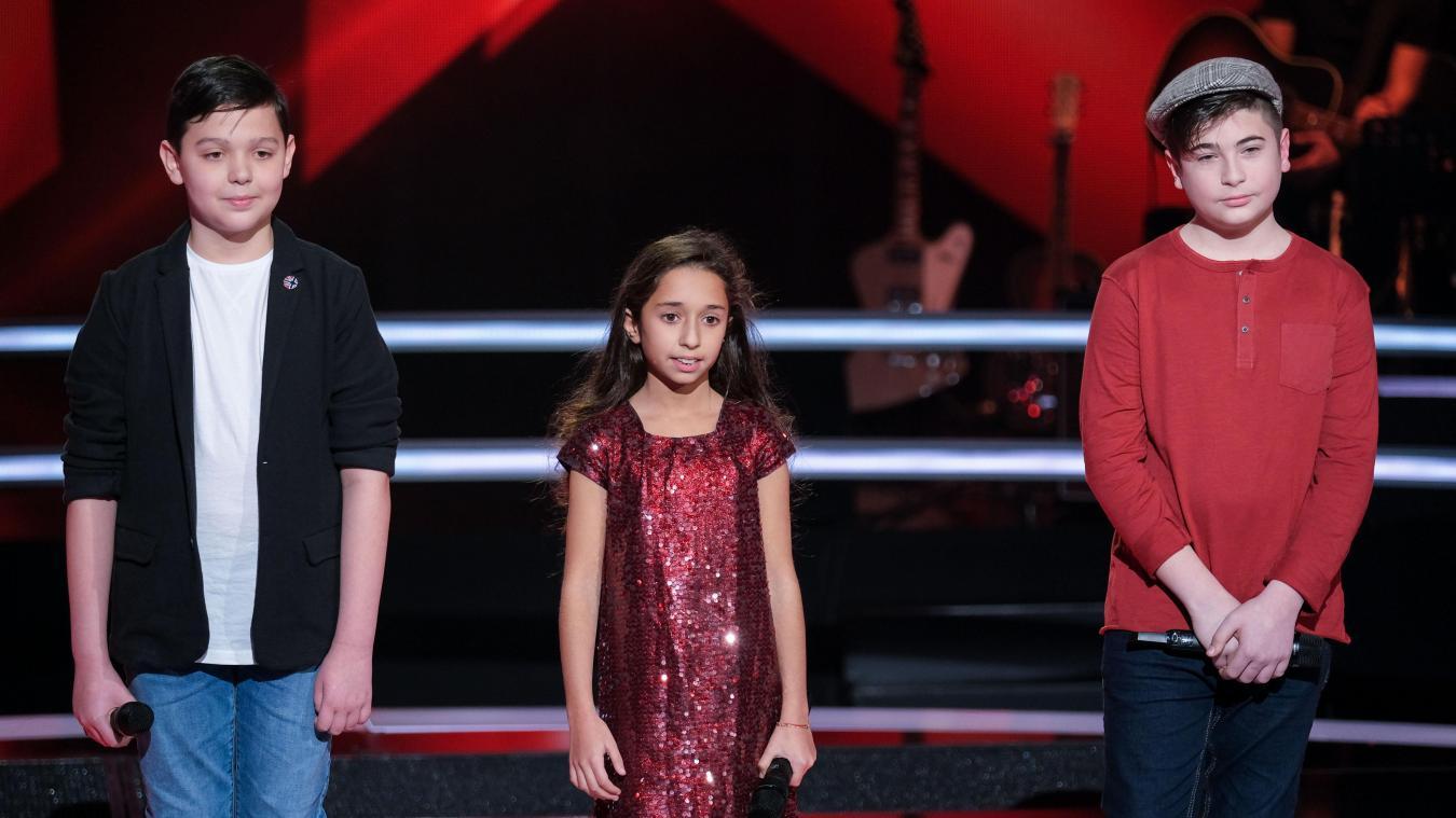 Thomas, notre petit Portelois, en compagnie de Rébecca et Martin pour les battle, diffusées ce samedi 19 septembre sur TF1.