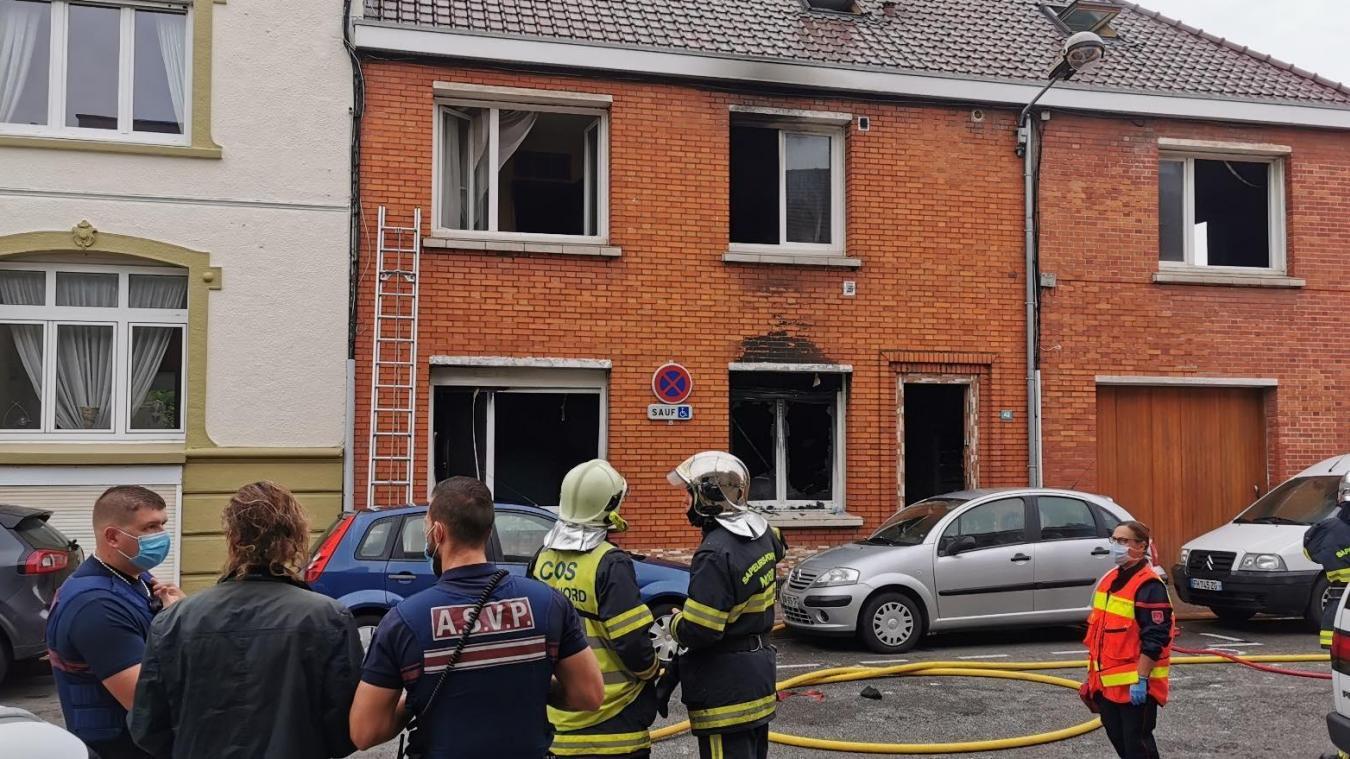 L'incendie avait eu lieu le 27 août, rue Marcellin-Berthelot, et avait rendu la maison inhabitable.