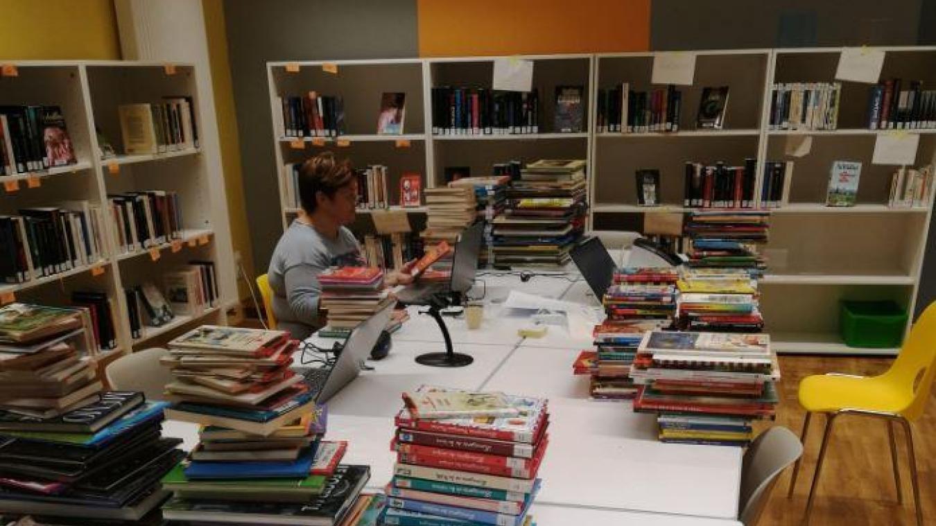 La bibliothèque, prête depuis juin 2020, sera inaugurée le 6 octobre prochain.