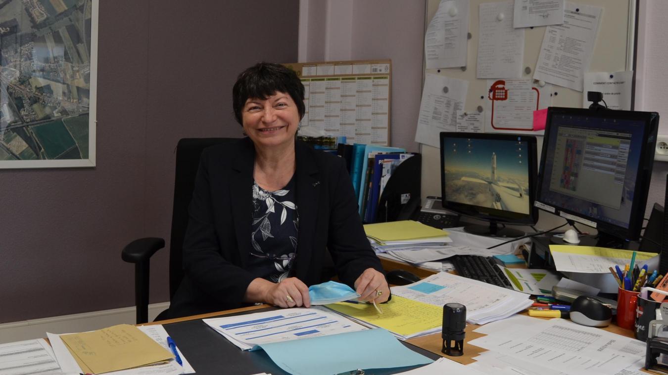 Béatrice Gryza est la nouvelle proviseure du lycée professionnel du bâtiment Flora-Tristan à Lillers.
