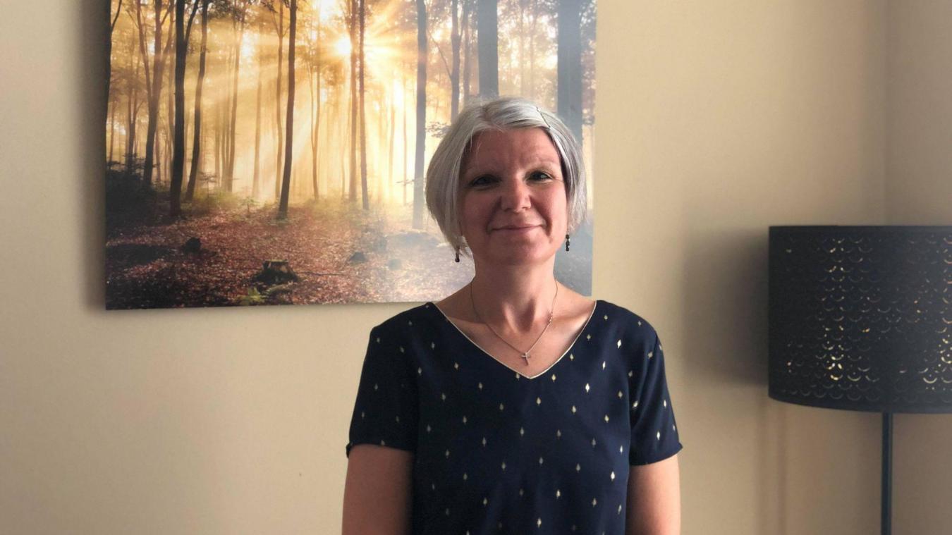 Depuis deux mois et demi, Magali Lohr s'est installée à Estaires en tant que sophrologue.
