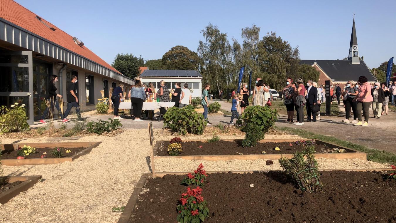 Le jardin a été inauguré le vendredi 18 septembre