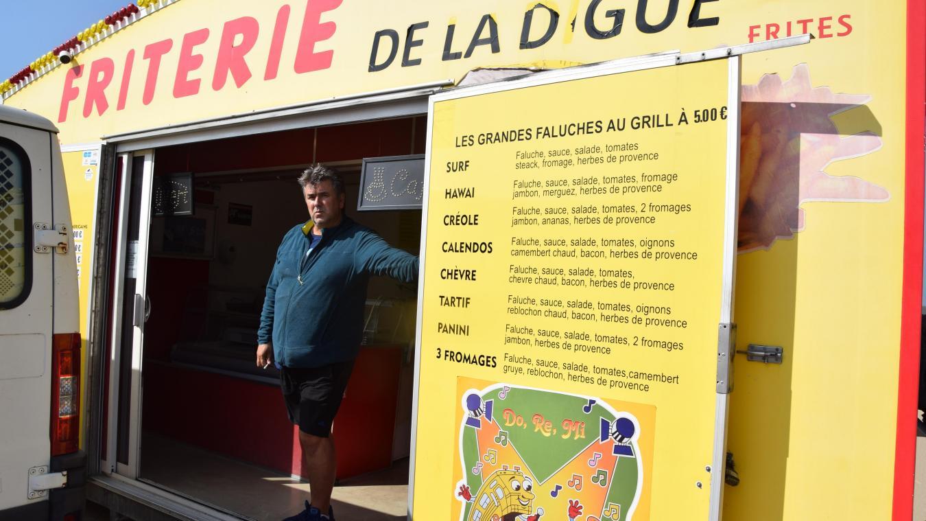 Michel Lavigne espère être entendu pour poursuivre son activité avant de rejoindre le parking de Blériot.
