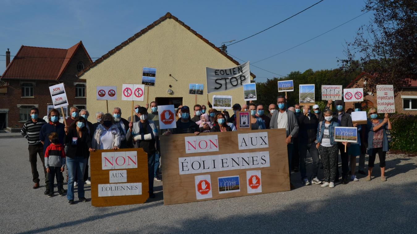 L'association Pour l'avenir de nos campagnes avait appelé à manifester samedi 19 septembre devant la mairie de Laires.