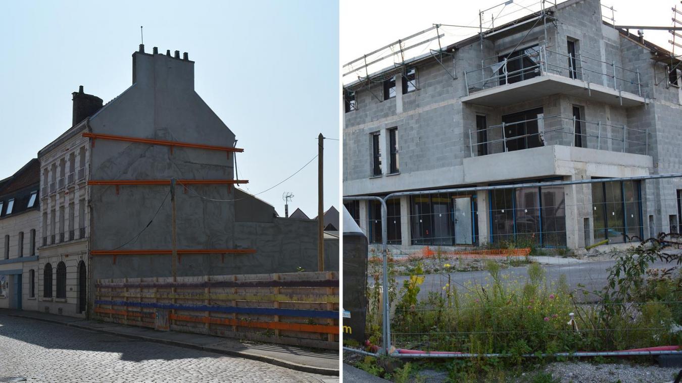 Après une série d'imprévus, les deux chantiers d'Habitats Hauts-de-France sont sur la bonne voie.