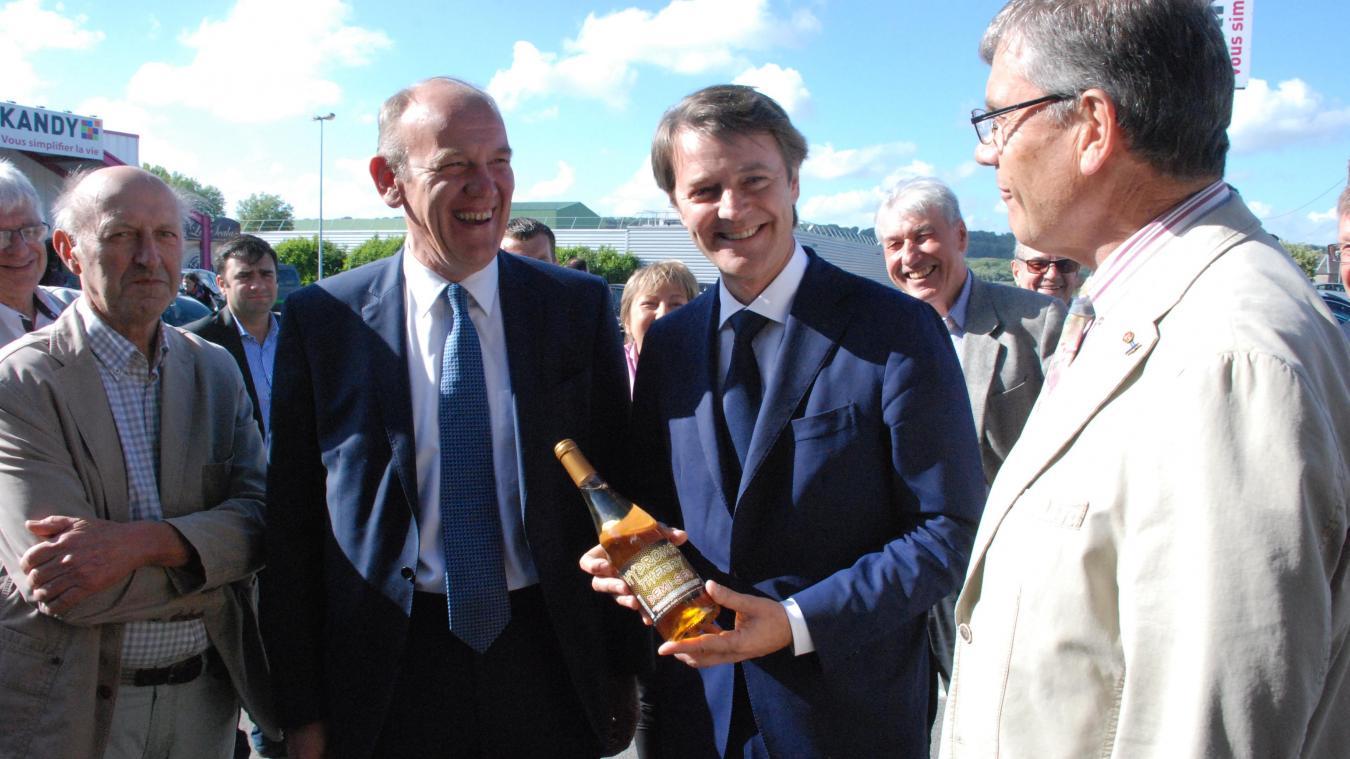 En 2017 François Baroin était venu soutenir Daniel Fasquelle dans le cadre des élections législatives. Aujourd'hui le maire du Touquet est prêt à renvoyer l'ascenseur.
