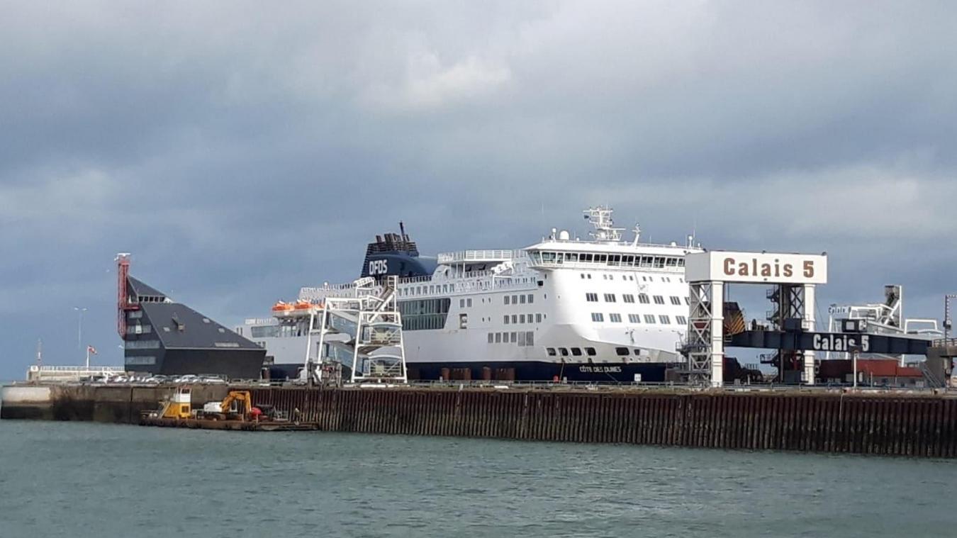 Grève à la capitainerie du port de Calais, le trafic est suspendu