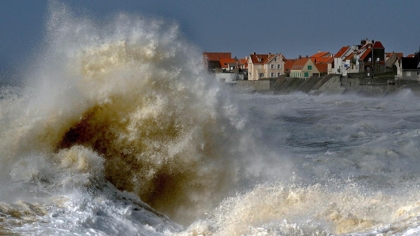 La mer sera agitée au large de la Côte d'Opale ces 25 et 26 septembre.