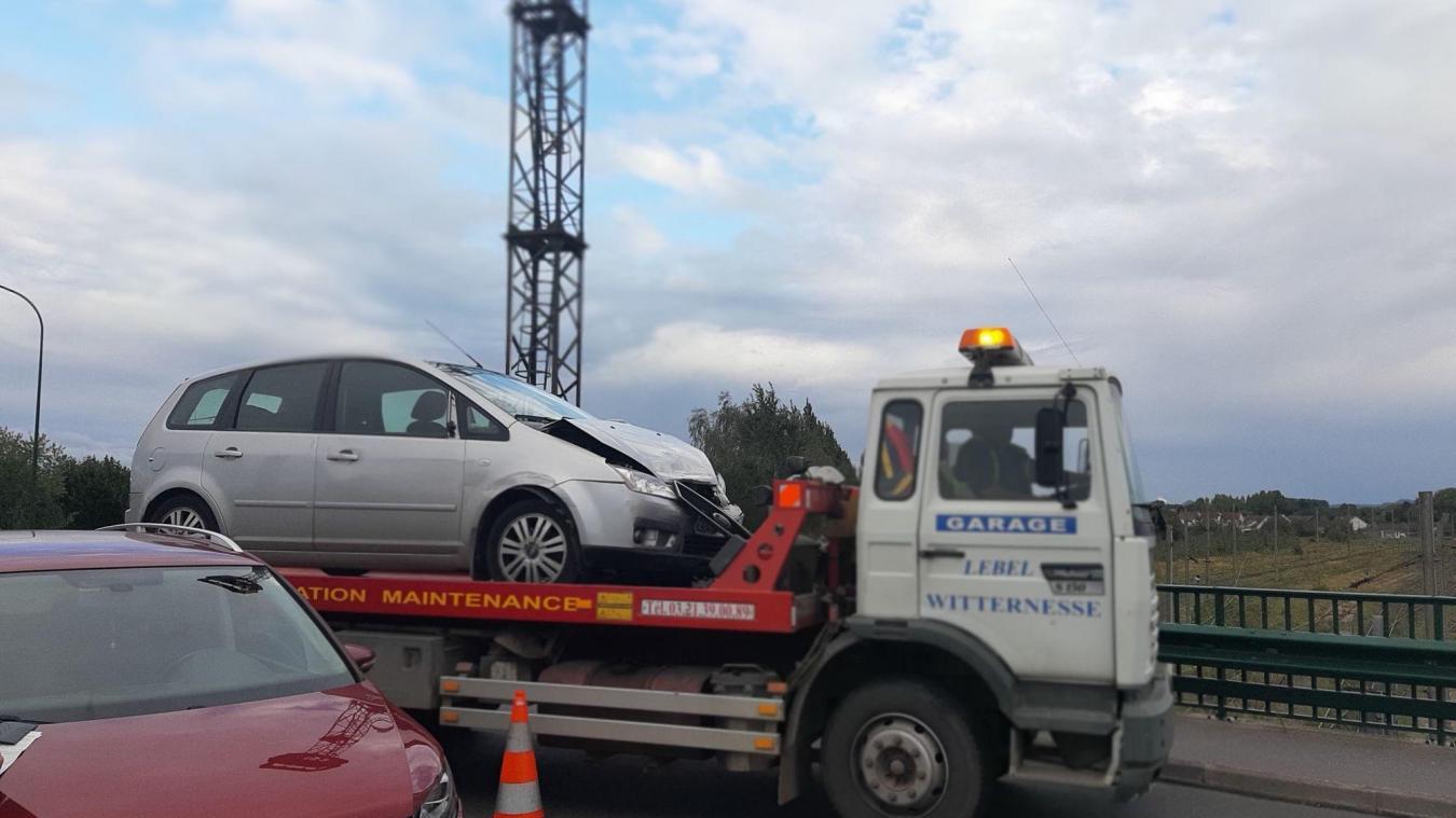 Isbergues : un accident perturbe la circulation