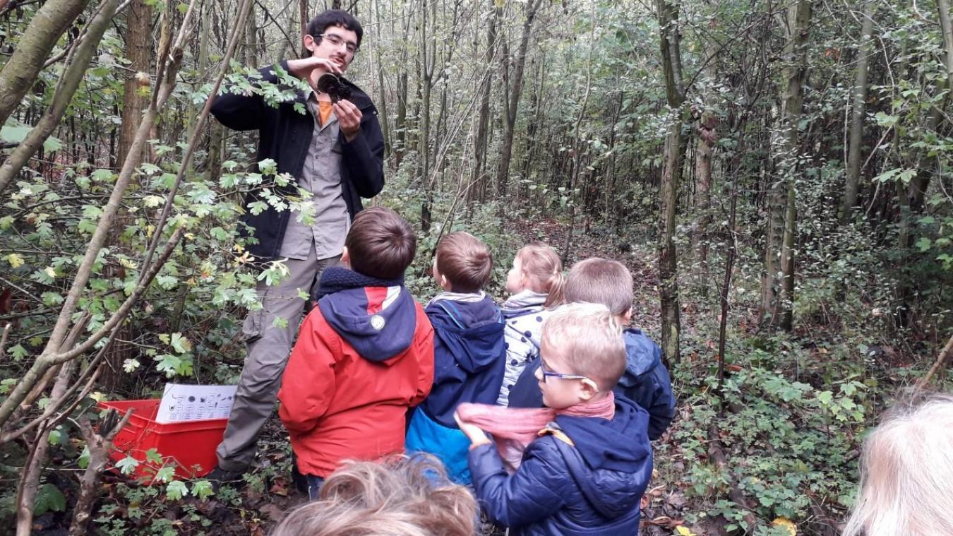 Chaque année, le centre accueille de nombreux enfants qui découvrent les joies de la nature.