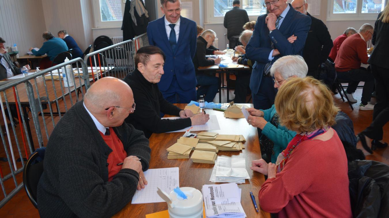 Le 15 mars, Pierre Ducrocq a dominé l'élection avec 89 voix d'avance sur la liste de Bruno Béthouart.