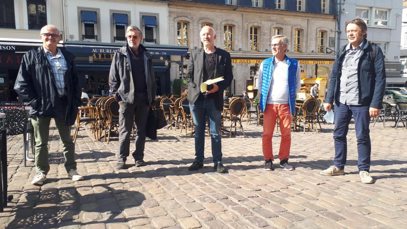 Jean-Richard Wacheux, Yves Marchand, Denis Buhagiar, Nicolas Huret et Pierre Geneau.