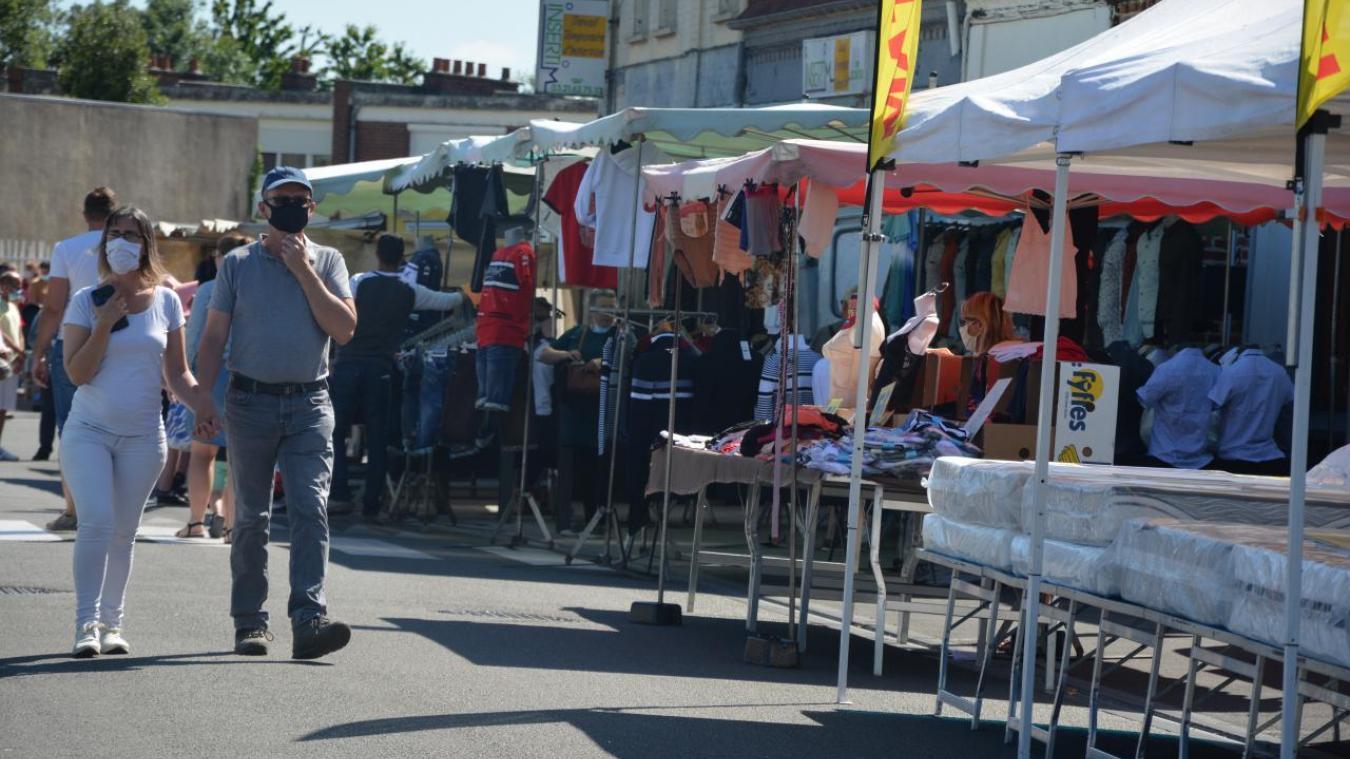 Bruay-la-Buissière: la ville exonère les emplacements des marchés jusque janvier