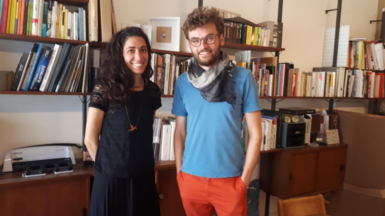 Les architectes Capucine et Simon Himpens ont installé leur agence à Boulogne-sur-Mer il y a trois ans.