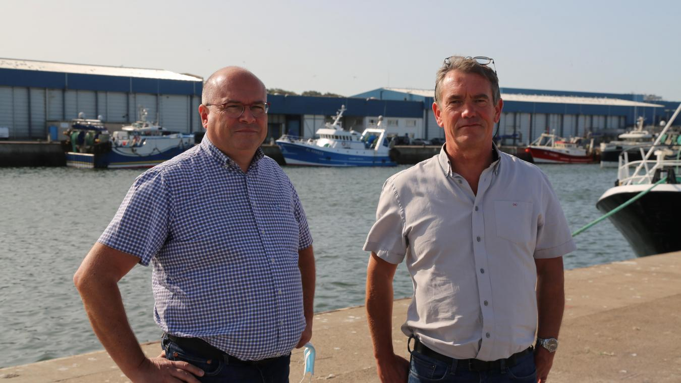 Étienne Dachicourt (à gauche) s'apprête à succéder à Éric Gosselin à la tête de la CME. Ce dernier occupait ce poste depuis 2010.