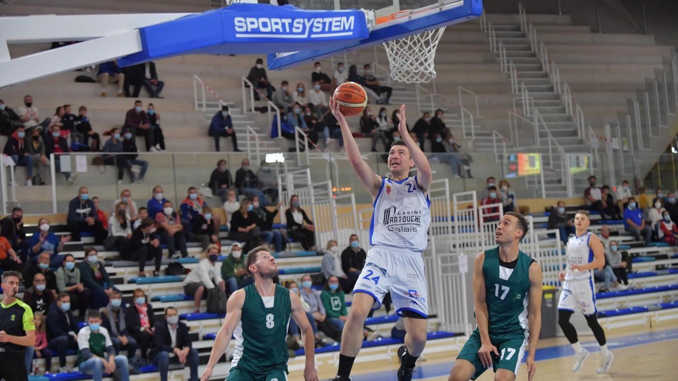 Calais Basket rassure face à Tourcoing