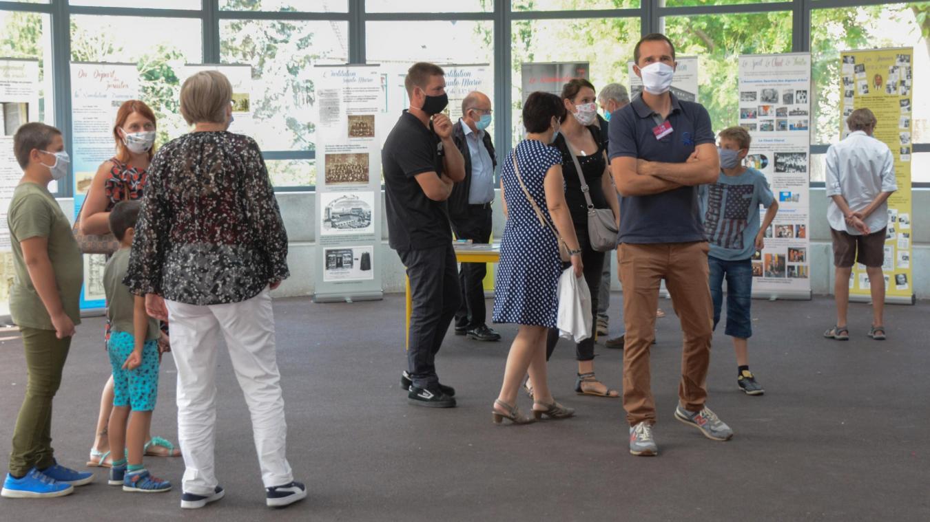 Une exposition a permis de découvrir l'histoire du bâtiment.
