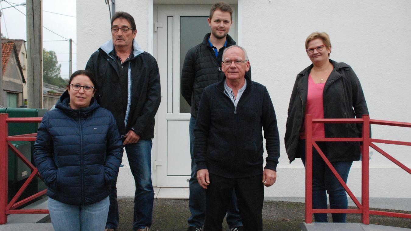 Les 5 nouveaux élus spinoliens.
