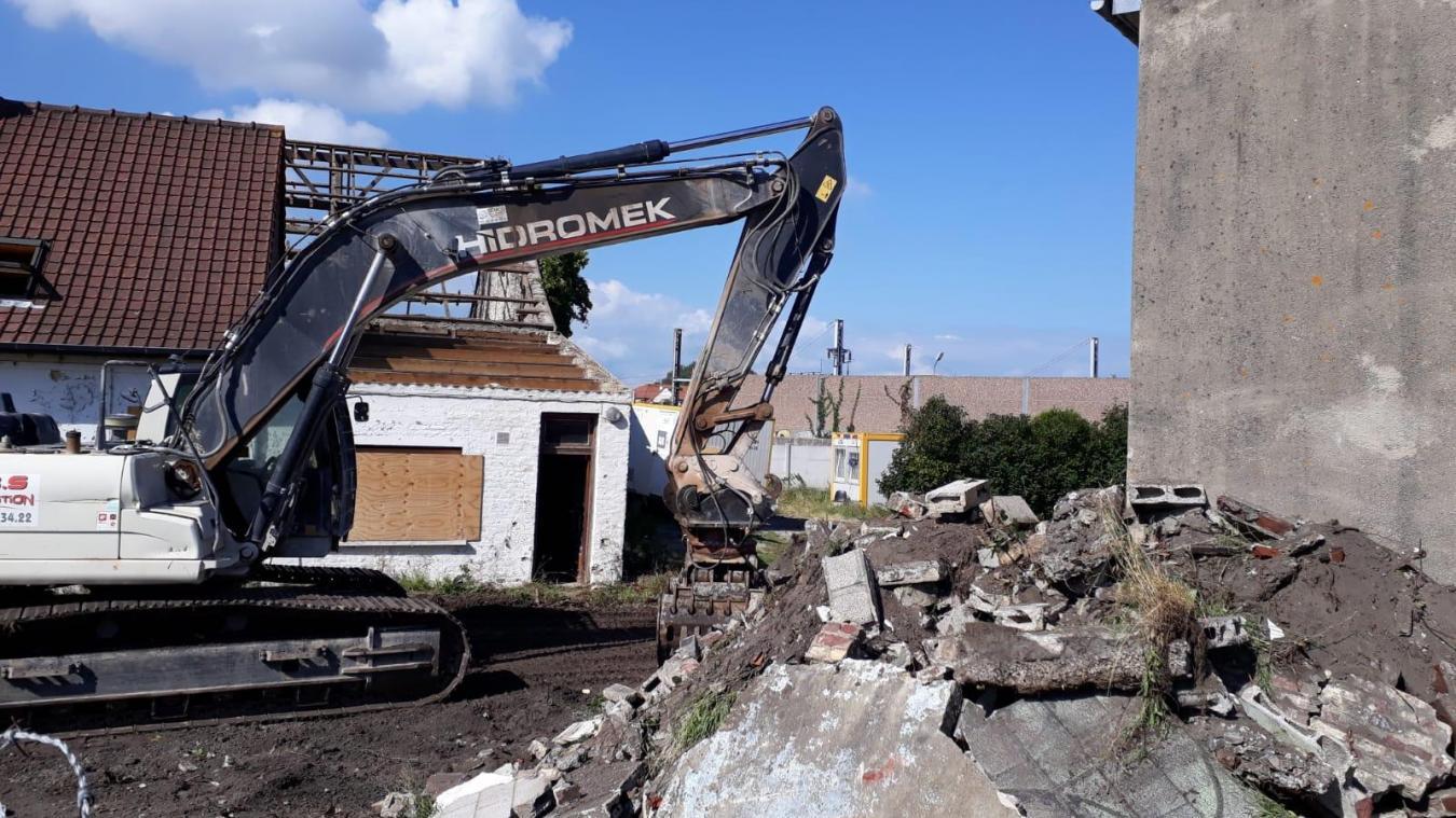 Le chantier de destruction a été lancé début septembre.