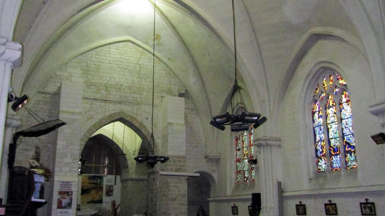 Houdain : la ville va rénover l'église Saint-Jean-Baptiste