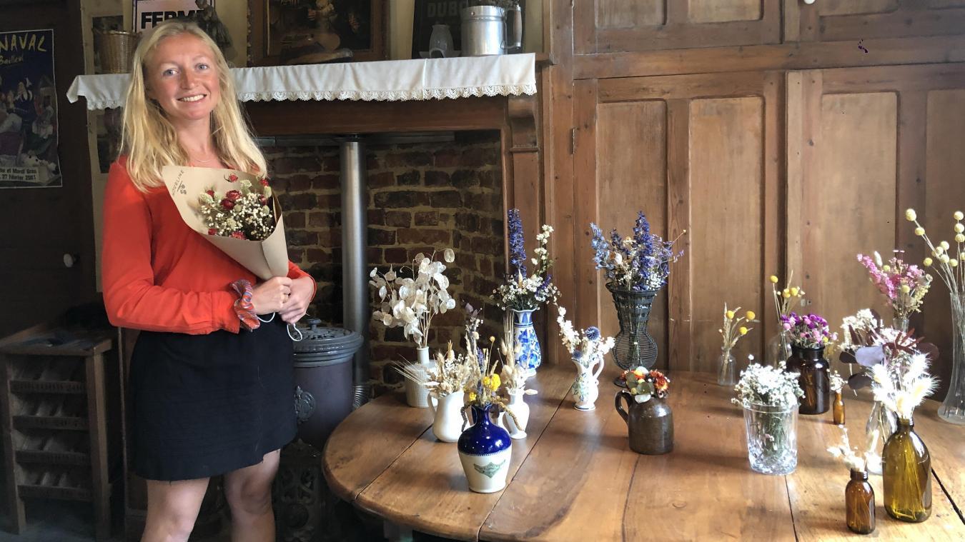 Sophie Cardinael a créé Houbline en février dernier.