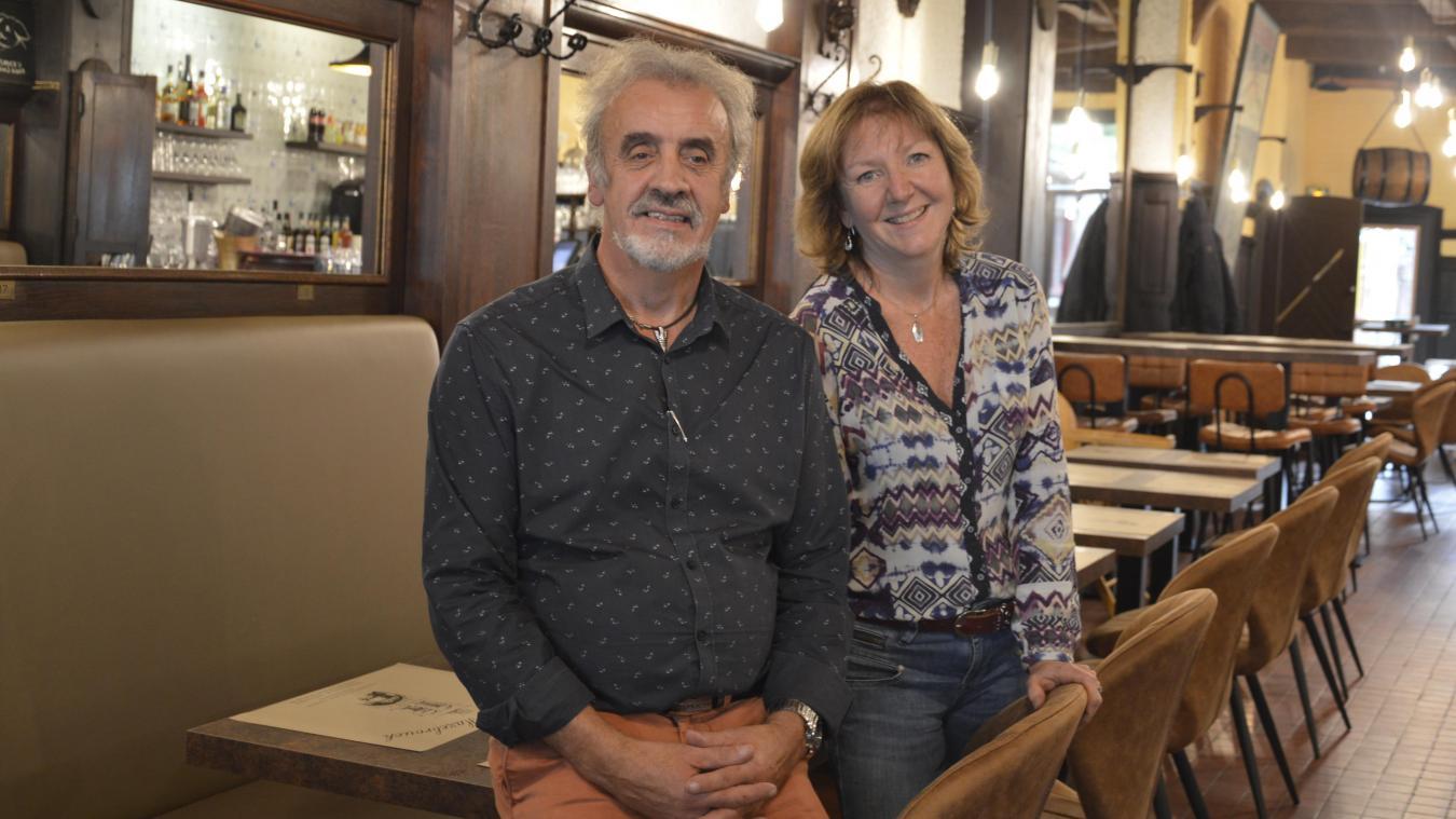 Jean-Luc et Béatrice Préchais étaient à la tête de l'Aristo de 2004 à 2012. Ils sont désormais les nouveaux gérants de la Taverne.