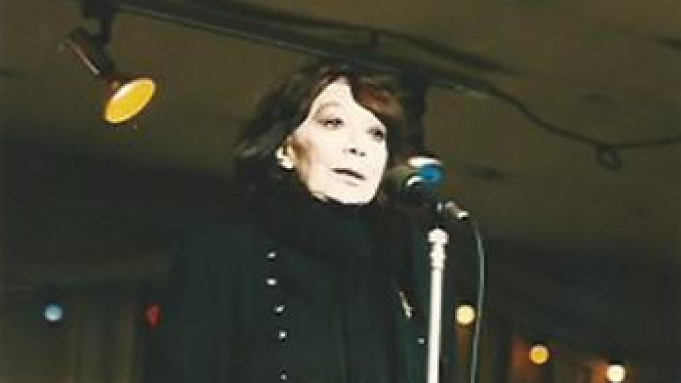 Juliette Gréco n'est venue qu'une fois officiellement sur la scène des Insolites, à Saint-Georges-sur-l'Aa.