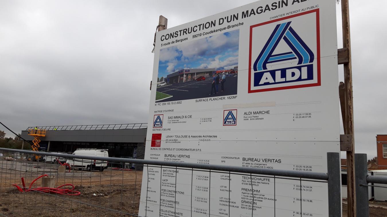 Le nouveau magasin sera accessible depuis la route de Bergues, mais aussi depuis la rue Maurice-Berteaux, via un espace paysager « de haute qualité ».