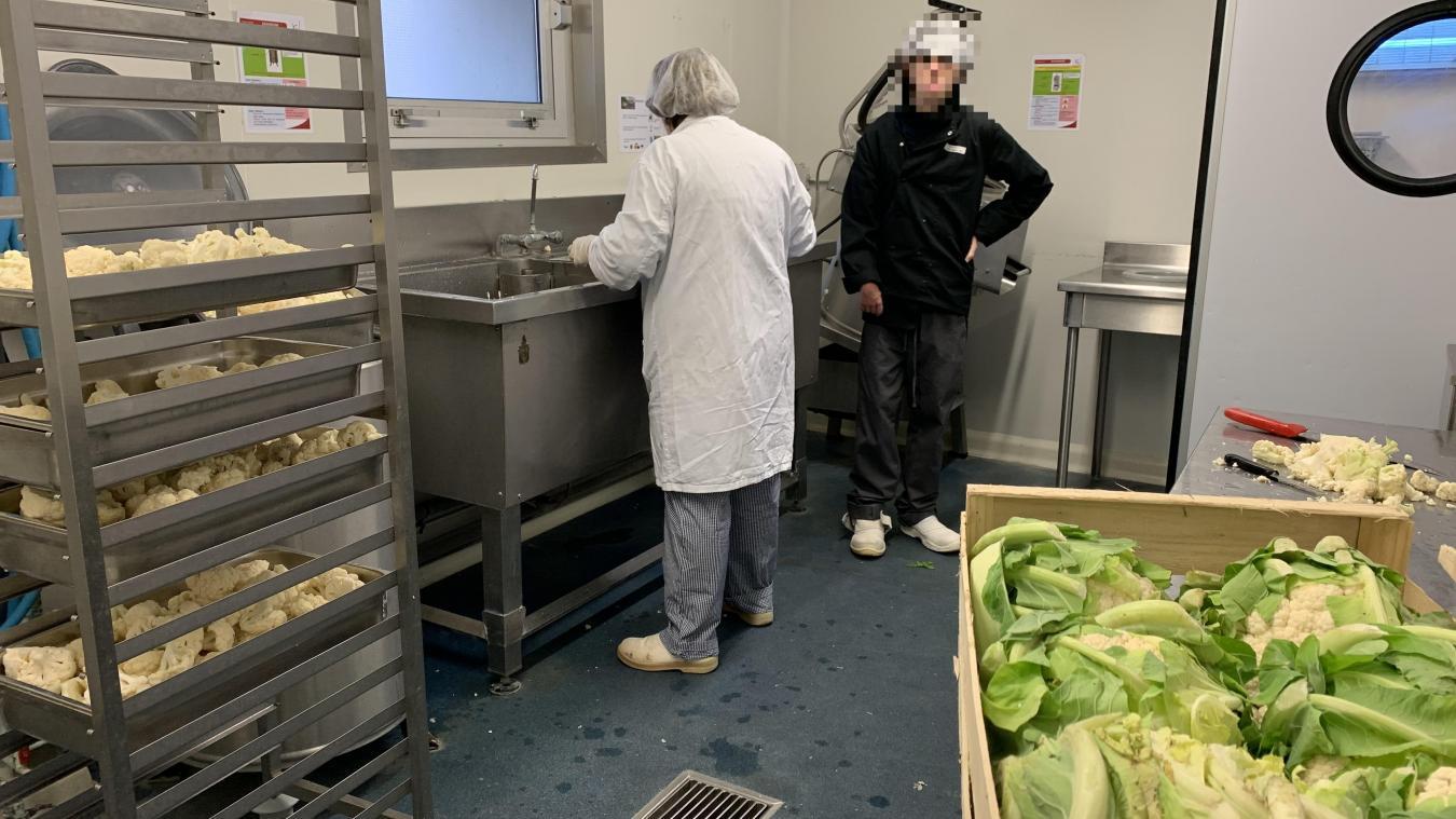 Un agent de la cuisine centrale a été testé positif au Covid-19. (photo illustration)