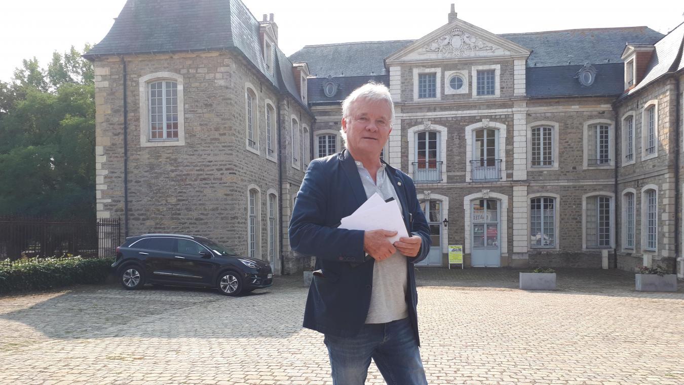 Hervé Deguines est le délégué du Souvenir Napolénien pour les Hauts-de-France.