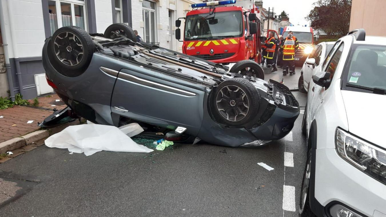 Calais: violent accident rue Delaroche