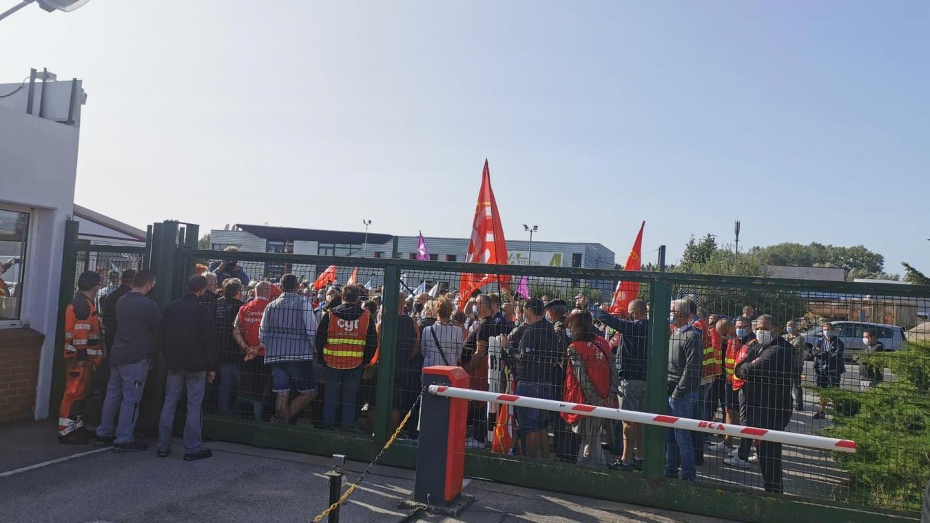 La seule manifestation a eu lieu jeudi 24 septembre. Depuis, les salariés gardent leur calme.