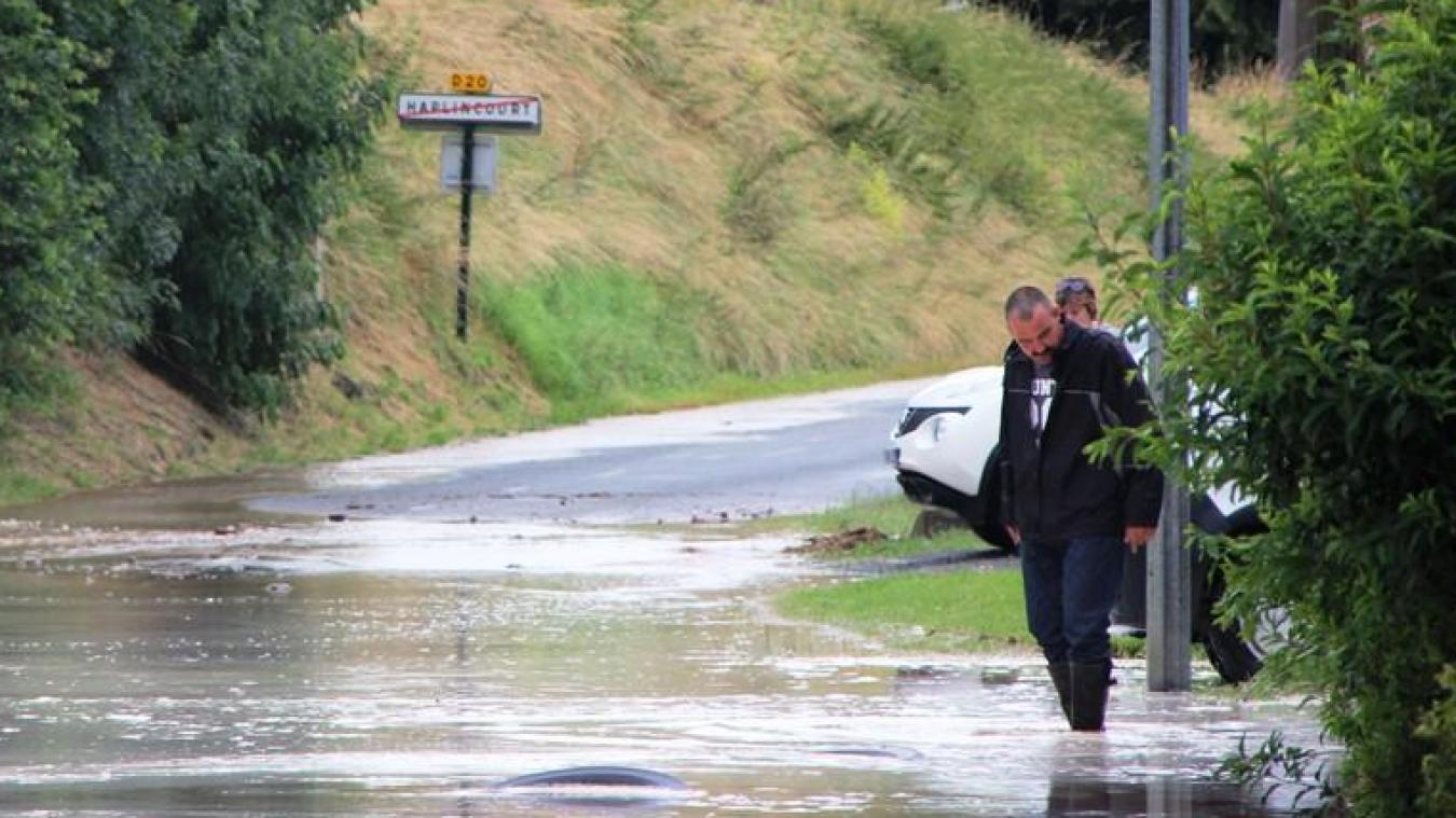Le 28 juin 2014, la commune avait subi des inondations liées au ruissellement de l'eau depuis les champs.