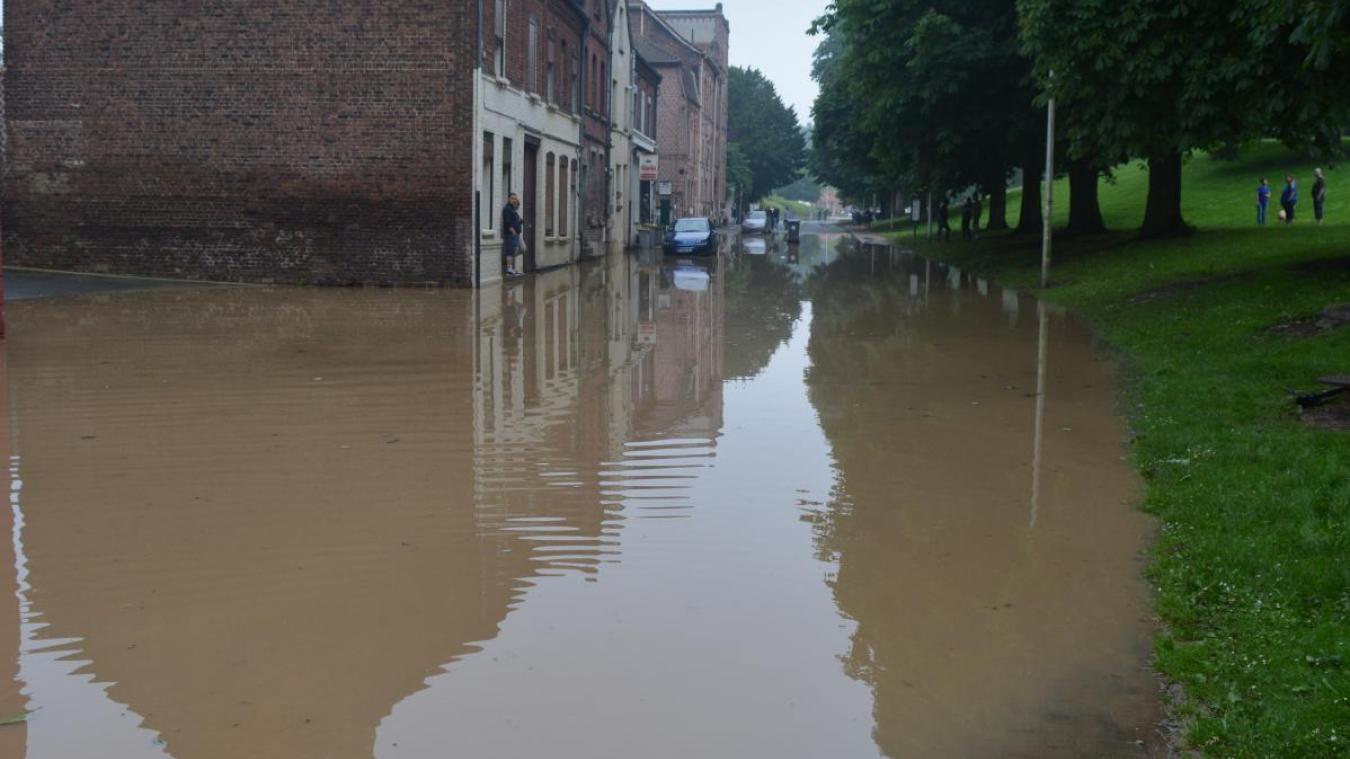 Les inondations de mai et juin 2016 ont fait d'énormes dégâts pour les riverains de la Lawe.